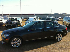 2013 MERCEDES BENZ C300 4MATIC, NAVIGATION, BACK UP SENSOR ~
