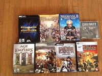 Big lot of PC games for 15$