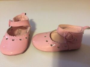Baby Girl, Pink Shoes, Size 3