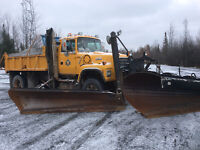 1993 Ford 9000 Plow Truck with Salter