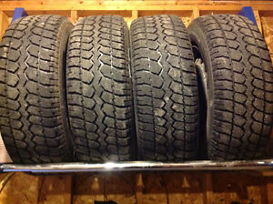 Full Set Winter Tires and Rims