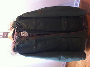 Wood Canada Mens XL Down Parka