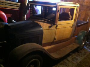1927 Chevrolet Hot Rod Pickup Project, with Ownership, 27 Chevy