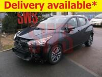 2017 Nissan Micra Acenta IG-T 0.9 DAMAGED REPAIRABLE SALVAGE
