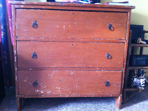 NL Furniture, trunk, tables, chair, pictures
