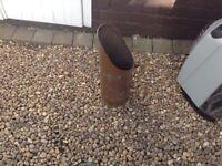 Brass coal bucket