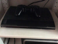 Ps3 super slim noir 500go