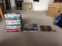 DVDs and tv box sets