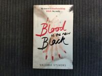 Book - Blood is the New Black by Valerie Stivers
