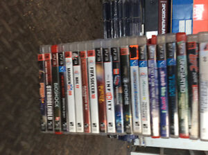 Large lot of Play Station Games