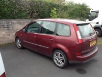 £650 2004 Ford Focus c-max 2.0l turbo diesel 6 gears 2 brand new tyres