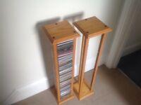 Pair of Stands Unique CD Racks