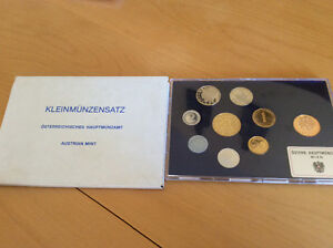 1987 Austrian Mint coin set
