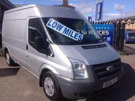 2008 FORD TRANSIT MWB MEDIUM ROOF EXCELLENT CONDITION LOW MILES FULL YEARS MOT