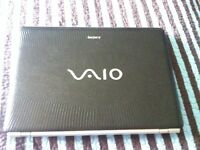 SONY VAIO MINT CONDITION--- BROWN SNAKE SKIN