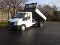 FORD TRANSIT ONE STOP TIPPER 2011 NO VAT NO VAT
