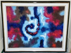 Gyula Marosan - Abstract Oil Painting Collection - Toronto London Ontario image 4