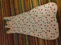 Kiddicare funky friends sleeping bag 2.5 tog 6-18months