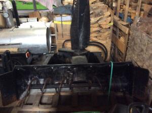 """Skid Steer Snow Blower Used - CAT SR17 66"""" WIDE"""
