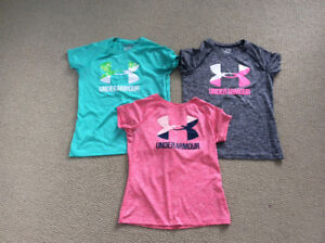 Girl's Under Armour shirts