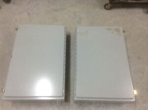 2 Weigmann Electrical Boxes