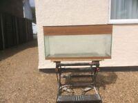 3FT complete tropical aquarium fish tank set up