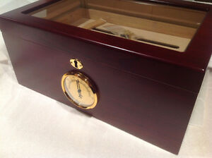 Cigar Desktop Berkeley Humidor Brand New in Box