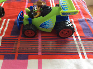 2009 TOY STORY 3 ACTION WOODY AND BUZZ LIGHTYEAR ACTION VEHICULE Gatineau Ottawa / Gatineau Area image 5