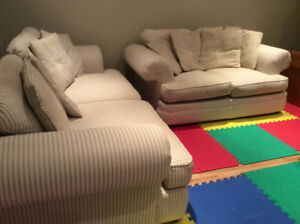 Two Couches ( Large & Small ) + for SALE