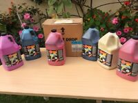 Washable PAINT - Gallon Size. Up to 11 Colours Available