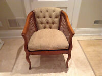 1 Cane Chair in prefect condition