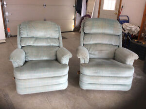 Two Lay z Boy recliners
