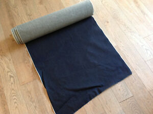Rouleau de tissu denim - recouvrement ou couture Québec City Québec image 1