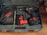Bosch 14.4v drill and impact driver