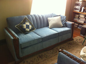 Vintage Sofa and 2 Chairs