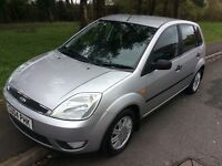 2004 Ford Fiesta 1.4 Ghia-12 months mot-great value 5door-great condition