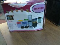 Kitchen chef brand new the box is damaged but it's never been used