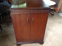 Antique cabinet.