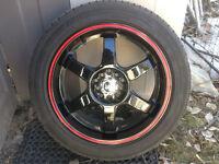 Akita Rims With Yokohama Tires