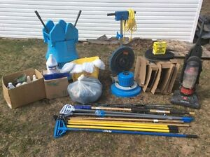 Swing Machine and Janitorial supplies