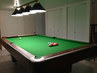 Custom Billiards/Snooker Table + All accessories