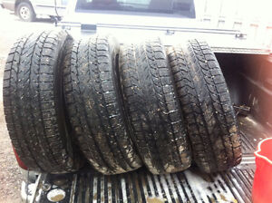205 60r16 Winter Tires and Rims x 4, Chevy Impala