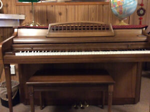 Quick Sale: Whitney Upright apartment size piano, asking $500.00