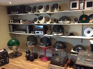 Collection radio Space age