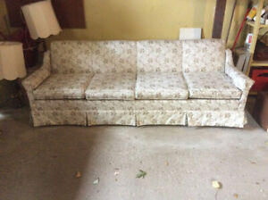 Clean pet free four seat couch $35.00
