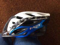 Bicycle helmet. MET