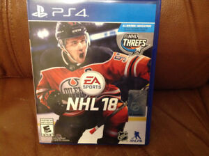 NHL 18 for sale