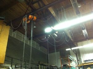 overhead moving cranes