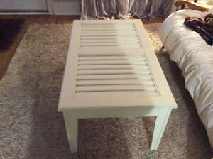 Shutter coffee table