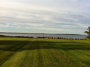 WATERFRONT Open concept SHEDIAC triplex side by side condo/apt